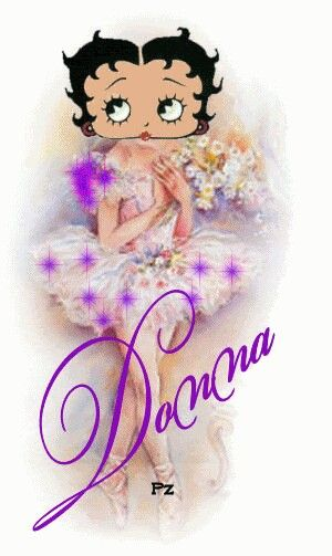 for sis donna love you bunches love betty boop too