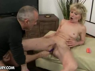 Wife fuck two cocks husband watches