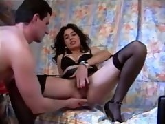 french hairy milf fucking and talking french hairy milf