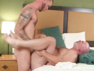 furry otter ryan powers fucks muscle bear wade cashen bareback