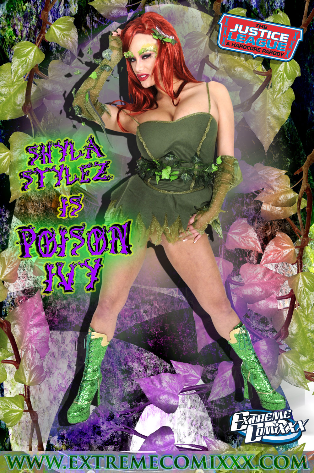 justice league ivy porn Poison