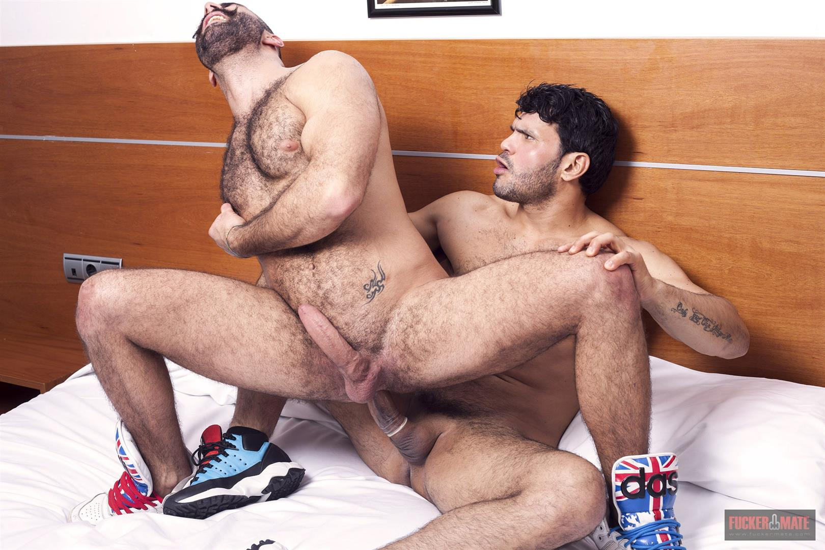 Gay hairy having man sex