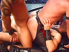 gay leather amateur porn tubes and kinky leather gays 1