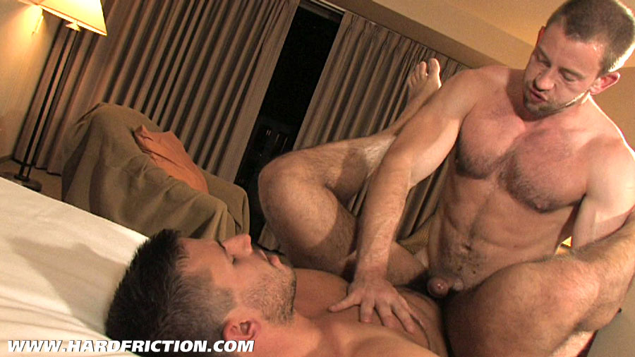 Hard Muscley Gay Cock Fucks Ass