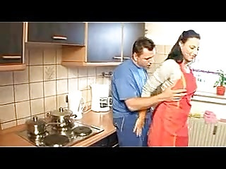 German Housewife Has Sex In The Kitchen Porn Tube Video