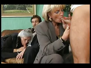 Group fuck with german mature