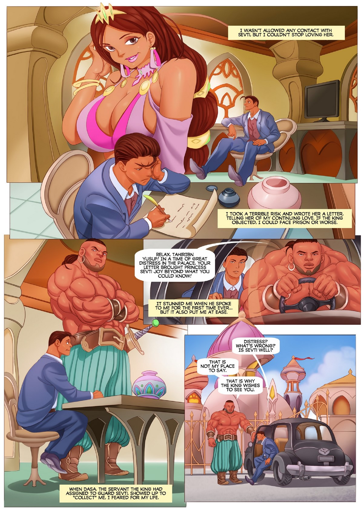 muscle growth archives page of muses sex comics
