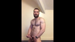 ginger muscle jock strips and jerks off on cam 3
