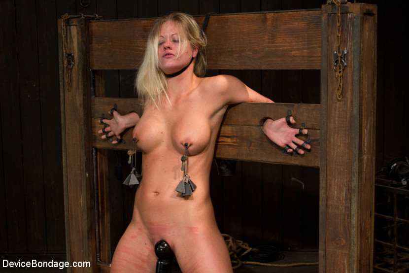 Extreme womens bondage sex