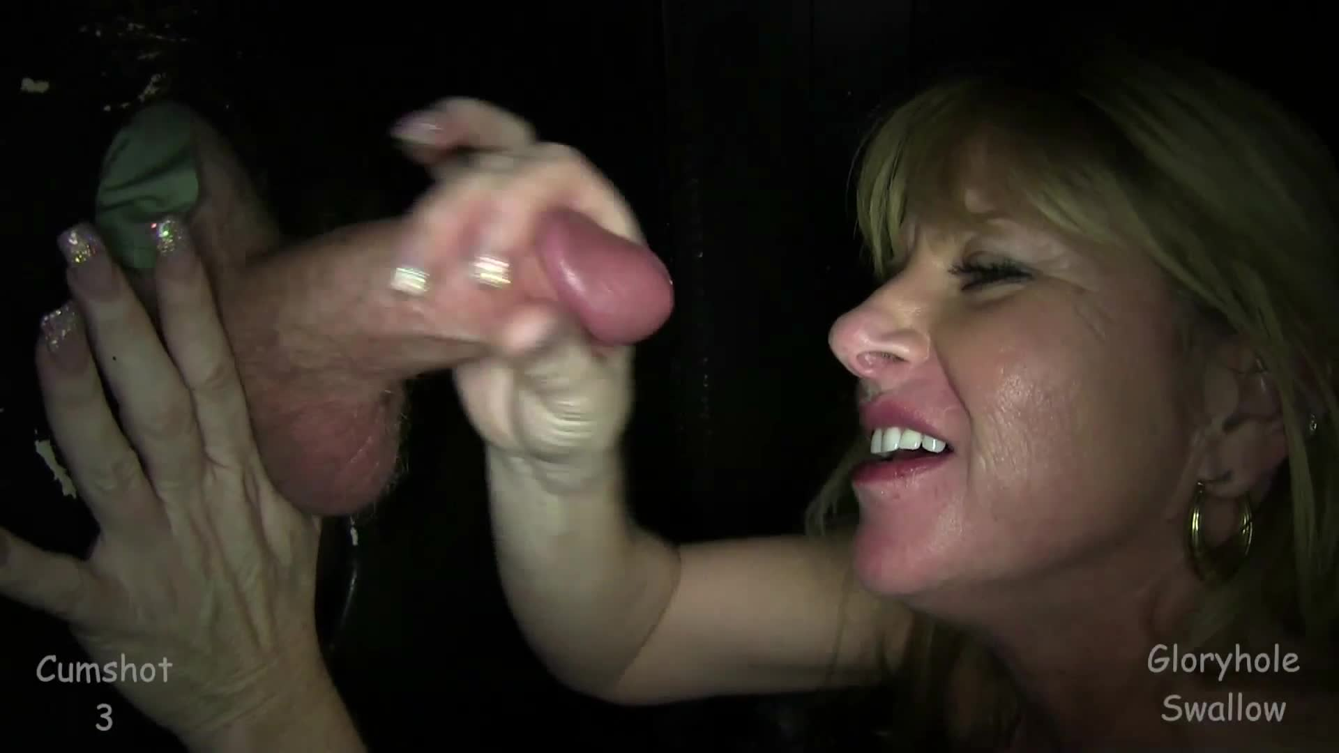 gloryhole swallow bridget second visit milf cum swallow cum 5