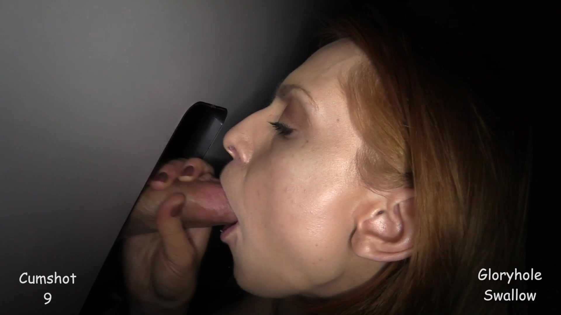 Mouth cumshot gloryhole