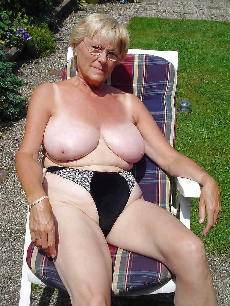 Big natural granny