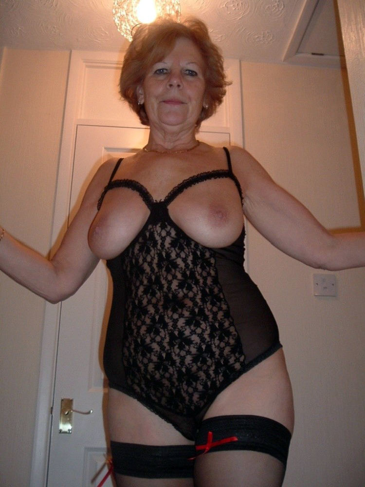 Naked grandma lingerie remarkable, very