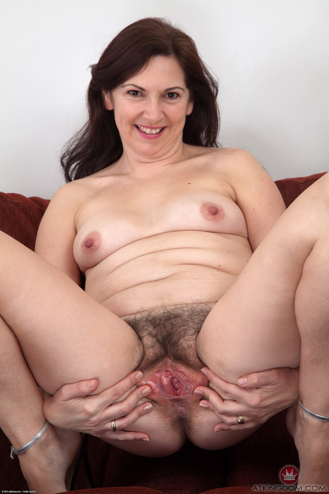Hairy Mature Solo Masturbation