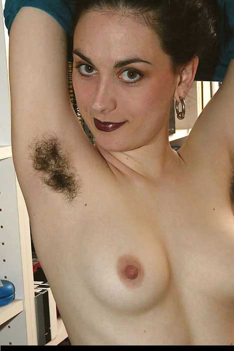 hairy women with hairy armpits porn