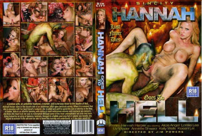 hannah goes to hell sin city porn dvd
