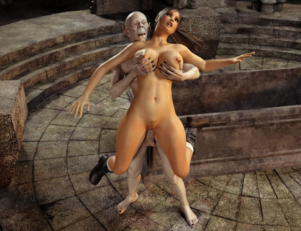 3d Monster Lara Croft | Sex Pictures Pass