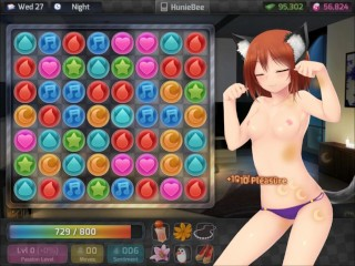 having sex with momo from huniepop the cat girl 2
