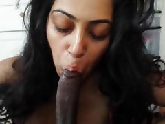 horny desi girl bowjob with cum part amateur blowjob handjob indian