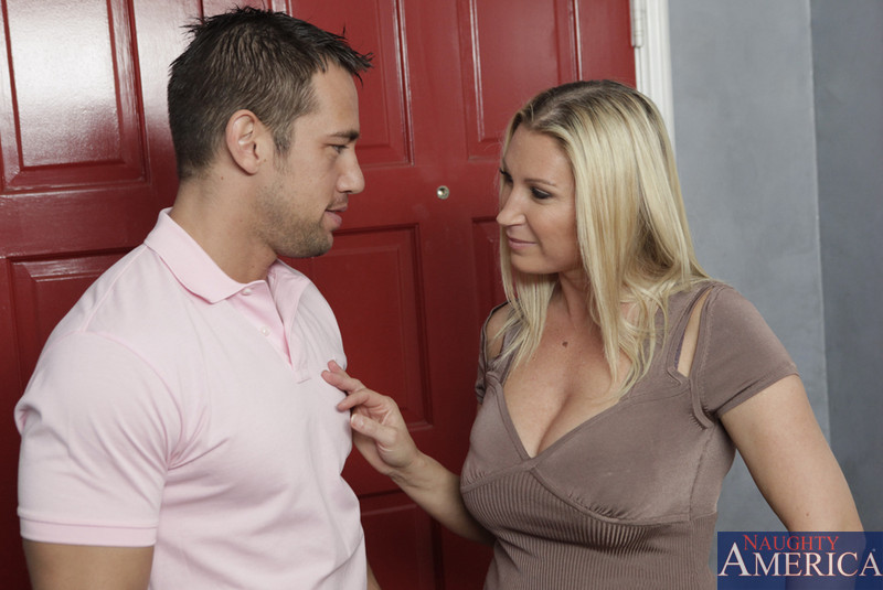 Hot Step Mom Seduces Step Son