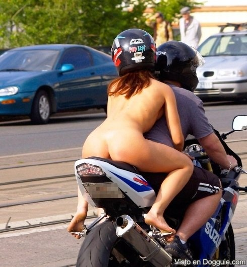 Biker babes naked having sex