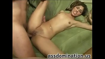 hot girl takes it in her ass as seen at assdomi