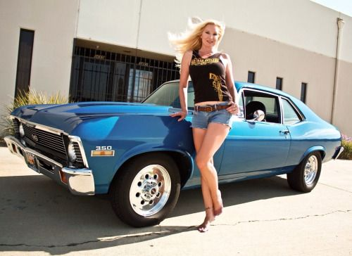Nude babes and chevys