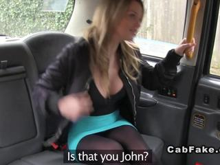 huge tits british blonde anal banged in fake taxi amateur euro 1