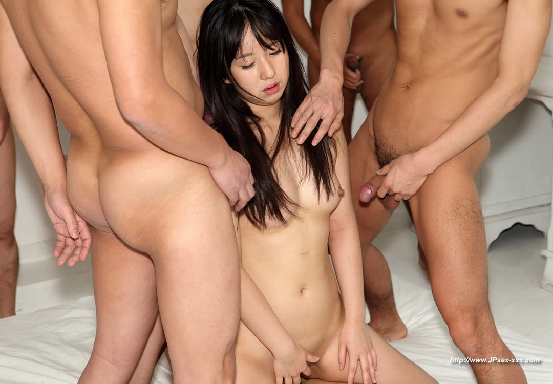 gangbanged chick Japanese av