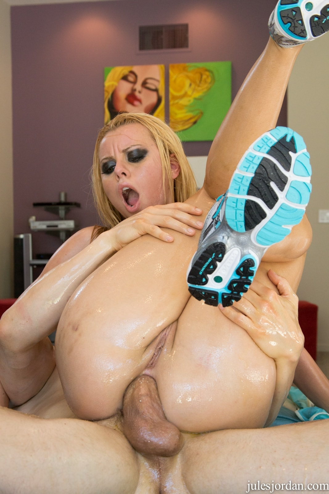 anal oiled rogers Jessie