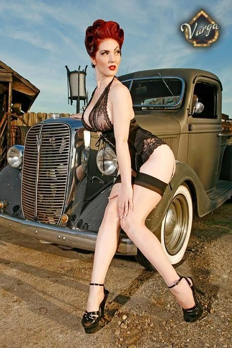 karrie roy varga girly automotive pinterest rockabilly