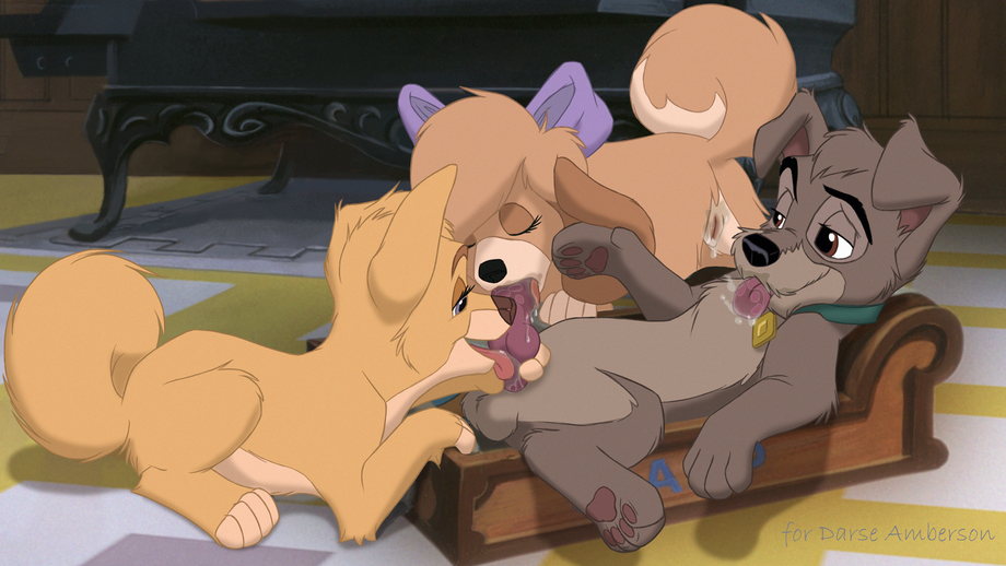 Angel Dog Porn - Lady and the tramp rule 34 - XXXPicz