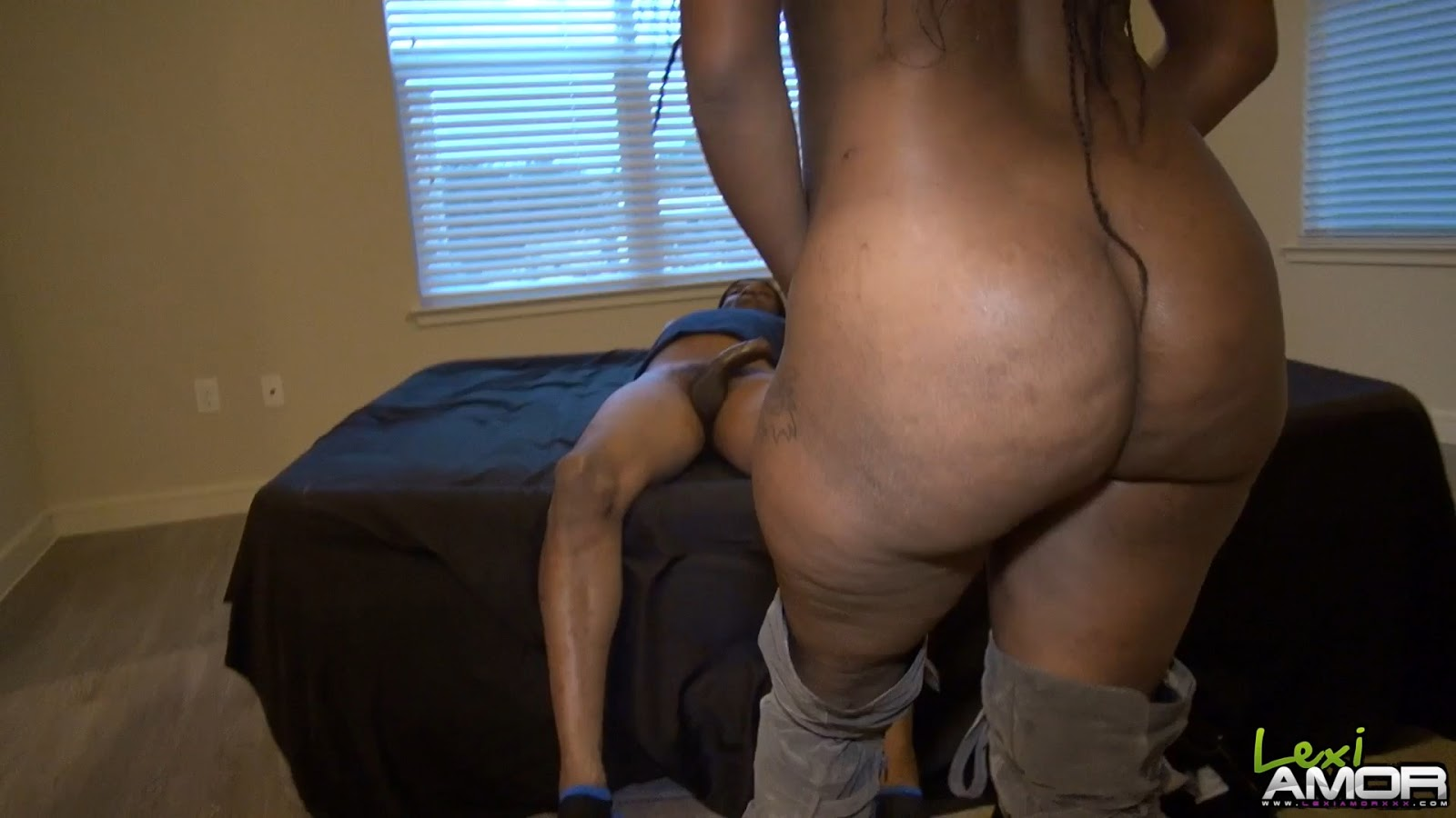 Ebony Threesome Wet Pussy