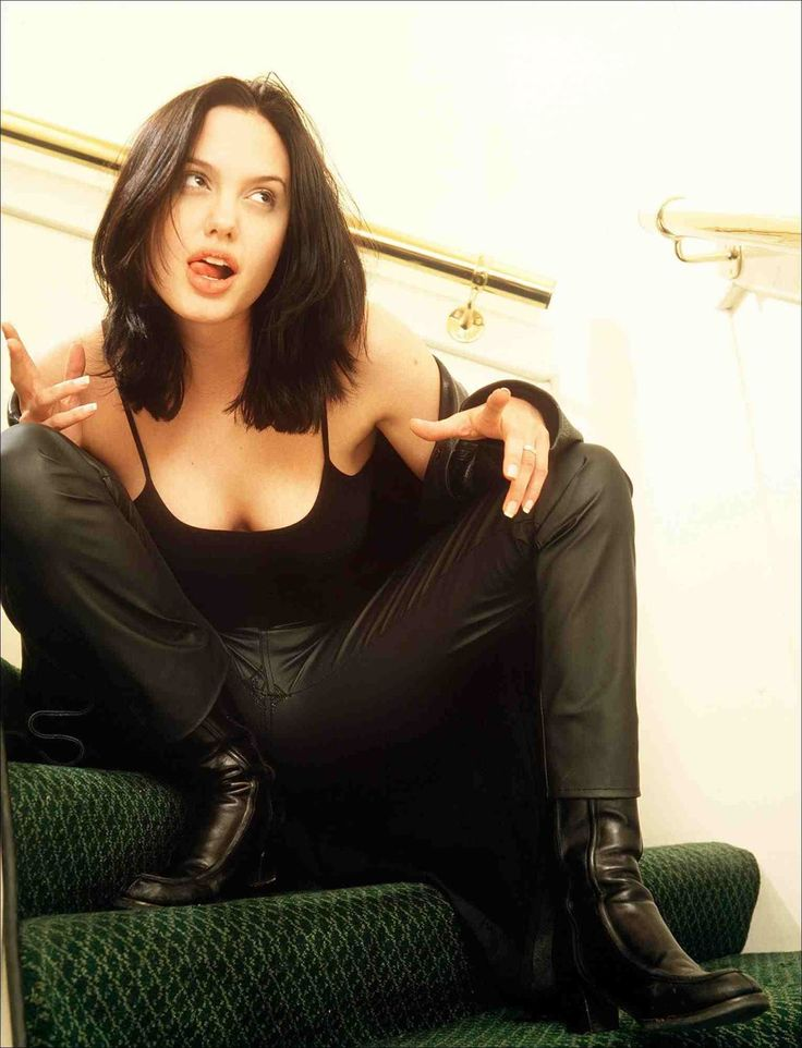 lovely ladies in leather angelina jolie in a leather jacket leather pants