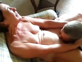 Mature licked to orgasm