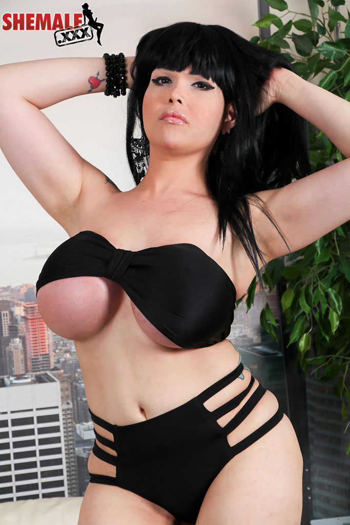 lucia her huge boobs shemale porn is like sex 1