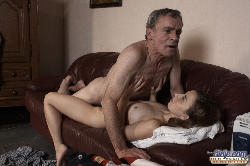 Latina Teen Fucks Old Man