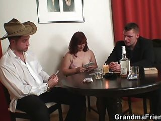 mature lost her pussy in poker game tmb