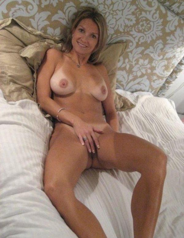 Hairy Blonde Mature Solo