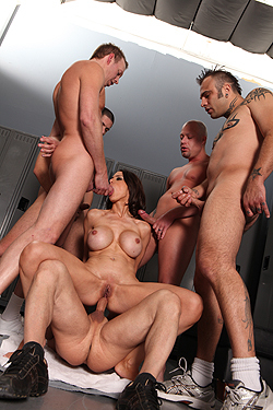 This remarkable Mckenzie lee interracial gangbang