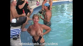 insane spring break beach party with hot naked real girls avelip ...