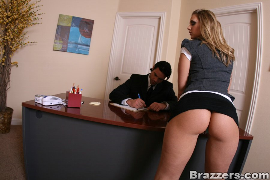 milf babe brianna love has hardcore anal sex right in the office