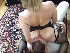 milf gets her ass eaten ass licking face sitting femdom mature 1