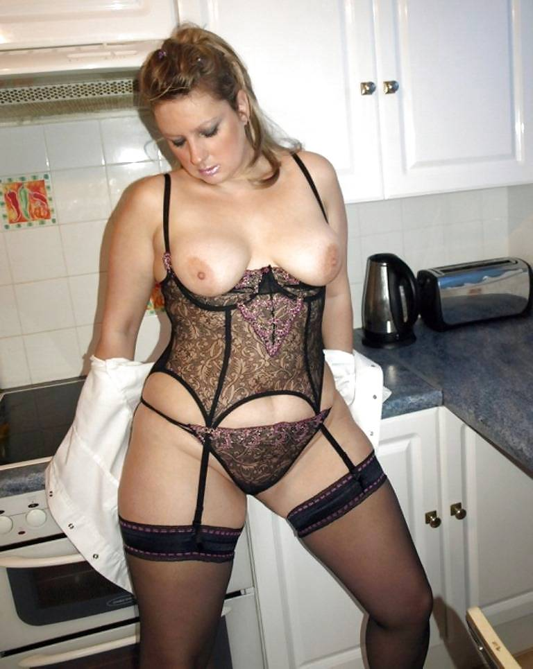 Exact Mature milf in lingerie and stockings sex that can
