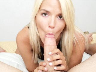 milf next door pov blow job facial
