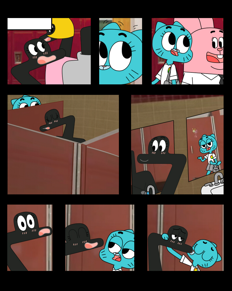 Aside! amazing world of gumball porn anais