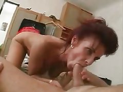 Man sleeping as woman tries to have sex