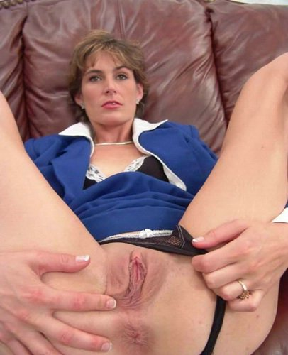 mom son Mature flashing