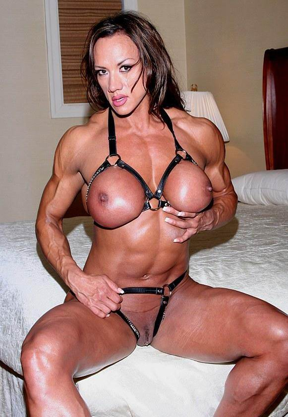 Sexy lady musculer naked valuable idea