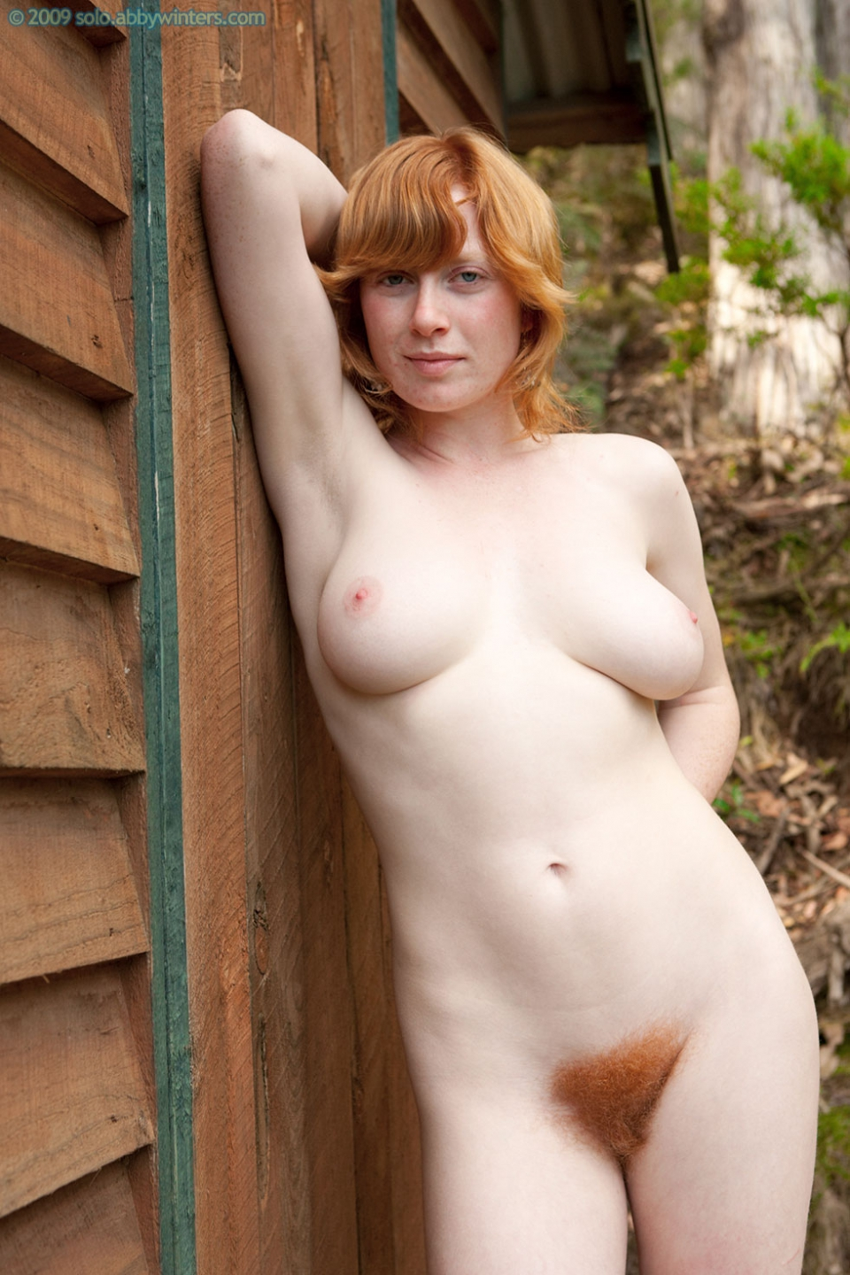 Ginger pubes pussy